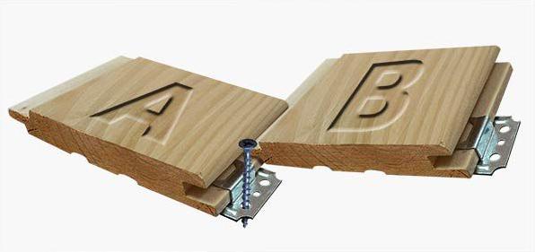 Как прибивать вагонку: выбор материалов и способа монтажа