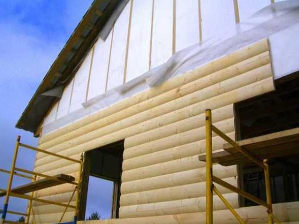 Обшивка бани блок-хаусом: внутренние и наружные работы