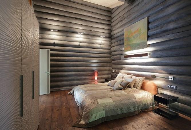 Блок-хаус в интерьере квартиры и загородного дома