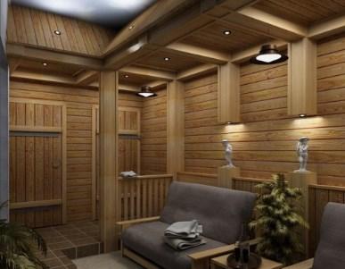Вагонка в комнате отдыха - стиль оформления и выбор материалов 17 фото