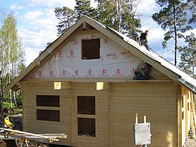 Как закрыть фронтон блок-хаусом - описание и порядок работ