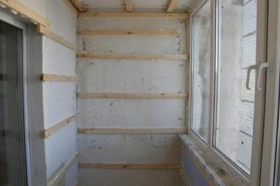 Как делать обрешетку под вагонку на балконе - надежный каркас для качественной обшивки