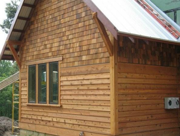Вагонка для внешней отделки дома - красивое и качественное оформление фасада