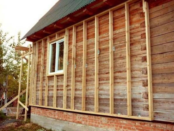 Как крепить блок-хаус снаружи - работы по внешней отделке дома