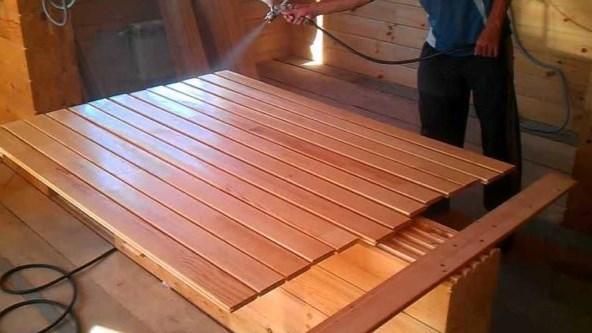 Надо ли обрабатывать вагонку - различные способы ухода за древесиной