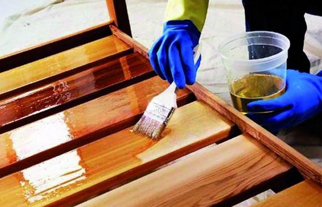 Можно в бане вагонку покрыть олифой - какой вид покрытия допустим в парной